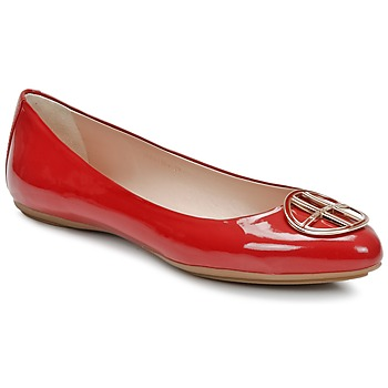 Shoes Women Flat shoes Hugo Boss Black LISETTE Red