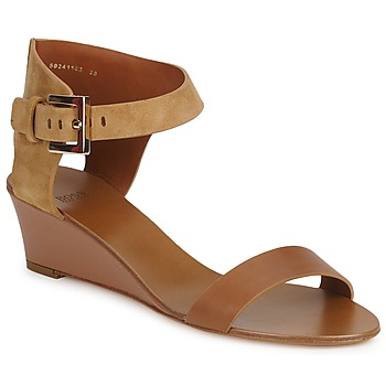 Shoes Women Sandals Hugo Boss Black SAFFY Brown