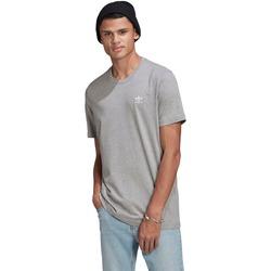 Clothing Men Short-sleeved t-shirts adidas Originals T-shirt adidas Essential gris clair/blanc
