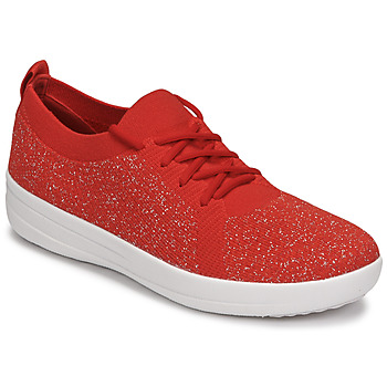 Shoes Women Low top trainers FitFlop F-SPORTY Red