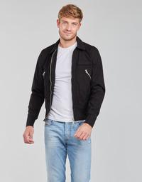 Clothing Men Jackets Schott FORREST Black