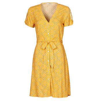 Clothing Women Short Dresses Only ONLVIOLETTE Orange