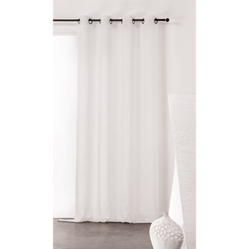 Home Sheer curtains Linder KAOLIN White
