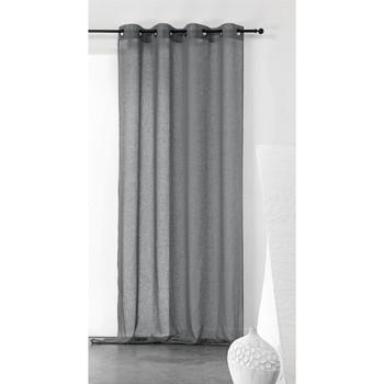 Home Sheer curtains Linder KAOLIN Grey / Dark