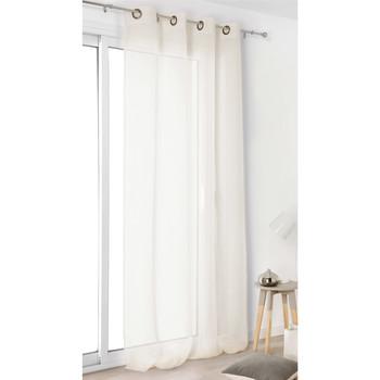 Home Sheer curtains Linder VOILE DE LIN Ivory