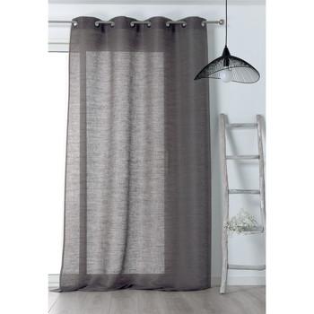 Home Sheer curtains Linder JUTE Grey / Dark