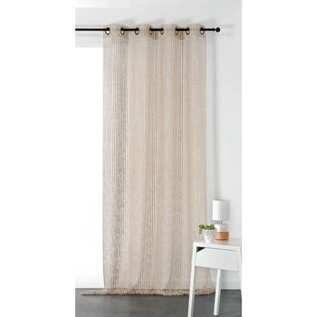 Home Sheer curtains Linder KERGUELEN Beige