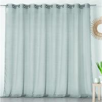 Home Sheer curtains Linder ETAMINE GIVREE Grey