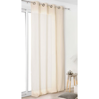 Home Curtains & blinds Linder TOILE ASP.LIN Ivory