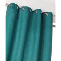 Home Curtains & blinds Linder SUEDINE LOURDE Blue / Duck