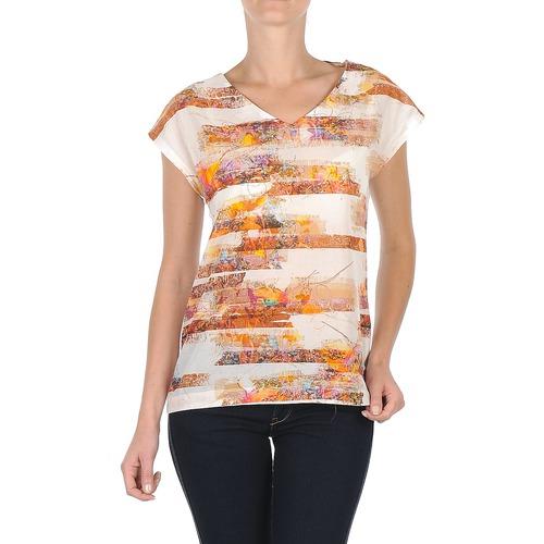 Clothing Women short-sleeved t-shirts TBS JINTEE White