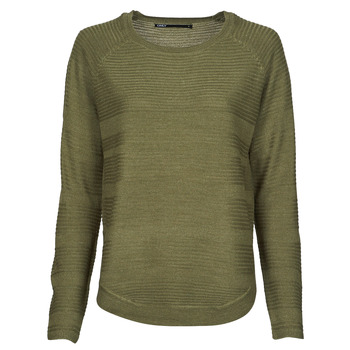 Clothing Women Jumpers Only ONLCAVIAR Kaki
