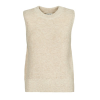Clothing Women Jumpers Only ONLPARIS Beige