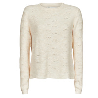 Clothing Women Jumpers Only ONLLOLLI Beige