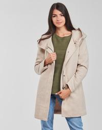Clothing Women Coats Only ONLSEDONA Beige