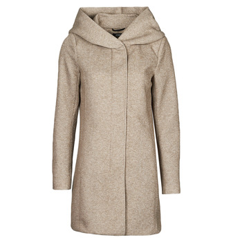 Clothing Women Coats Only ONLSEDONA Brown