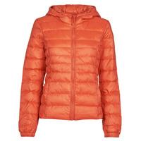 Clothing Women Duffel coats Only ONLTAHOE Orange