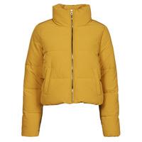 Clothing Women Duffel coats Only ONLDOLLY Mustard