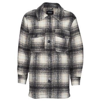 Clothing Women Jackets / Blazers Only ONLALLISON Black / Ecru