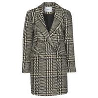 Clothing Women Coats Only ONLSELENA MINNA Black / Beige