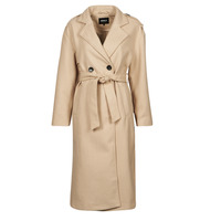 Clothing Women Trench coats Only ONLEMMA Beige