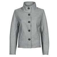 Clothing Women Jackets / Blazers Only ONLVICTORIA Grey
