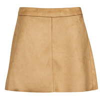 Clothing Women Skirts Only ONLLINEA Brown