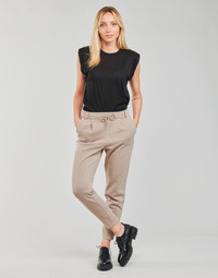 Clothing Women Chinos Only ONLPOPSWEAT Beige