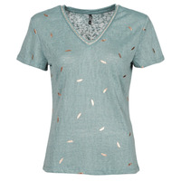 Clothing Women Short-sleeved t-shirts Only ONLSTEPHANIA Blue