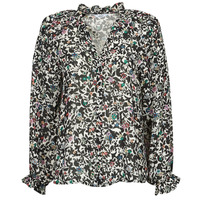 Clothing Women Tops / Blouses Only ONLMELINA Black / Multicolour