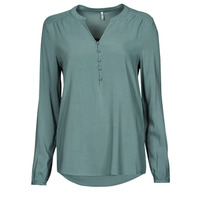 Clothing Women Tops / Blouses Only ONLNEW EDDIE Green