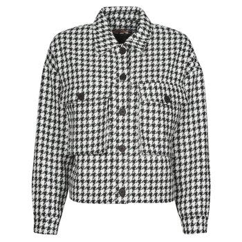 Clothing Women Jackets / Blazers Moony Mood PABLAINCOURS Black / White