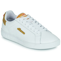 Shoes Women Low top trainers Ellesse CAMPO White / Gold