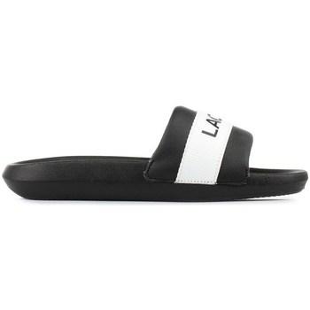 Shoes Women Sliders Lacoste Croco Slide White, Black