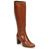 Shoes Women High boots Fericelli PACHA Brown