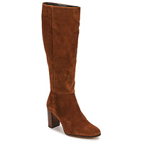 Shoes Women High boots Fericelli PINO Brown