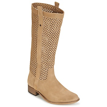 Shoes Women High boots Betty London DIVOUI CAMEL