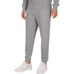 Clothing Men Tracksuit bottoms Gant Original Joggers grey