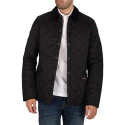 Clothing Men Jackets Barbour Heritage Liddesdale Quilt Jacket black