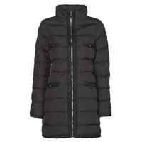 Clothing Women Duffel coats Moony Mood PABREST Black