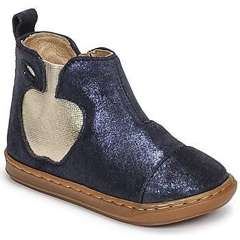 Shoes Girl Mid boots Shoo Pom BOUBA APPLE Blue