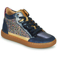Shoes Girl Hi top trainers Shoo Pom PLAY CONNECT Blue
