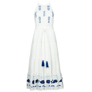 Clothing Women Long Dresses Desigual MEMPHIS Multicolour