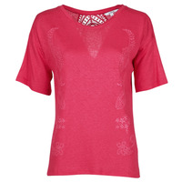 Clothing Women Short-sleeved t-shirts Desigual CLEMENTINE Red