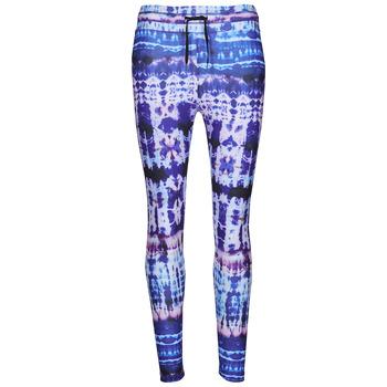 Clothing Women Leggings Desigual TIEDYE Multicolour