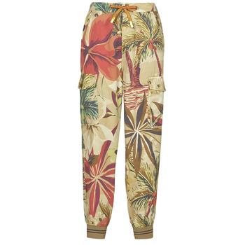 Clothing Women Wide leg / Harem trousers Desigual TOUCHE Multicolour