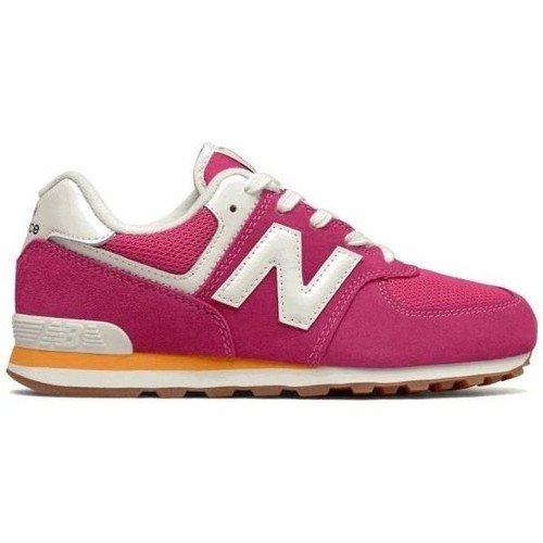 Shoes Children Low top trainers New Balance 574 Pink