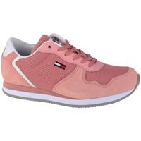 Shoes Women Low top trainers Tommy Hilfiger Jeans Mono Sneaker Pink