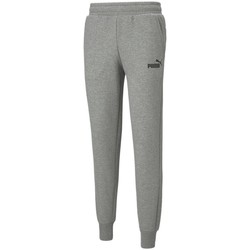 Clothing Men Tracksuit bottoms Puma Essentials Logo Grey