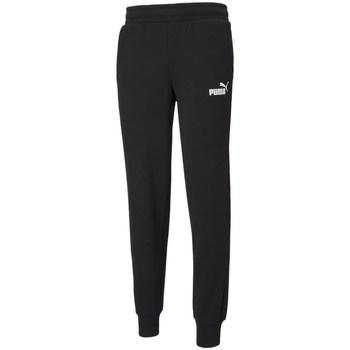 Clothing Men Tracksuit bottoms Puma Essentials Logo Black